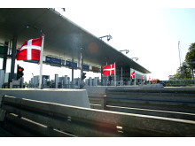 Flag i Storebælts betalingsanlæg