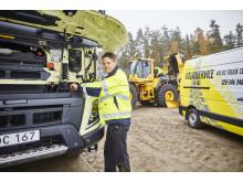 Swecon och Volvo Truck Center satsar i Förbifart Stockholm - med unik kompetens och service
