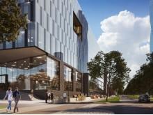 Geely Innovation Centre på Lindholmen. Illustration: Arkitektbyrån Design