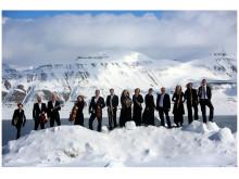 Sinfoniettaen ute på Svalbard