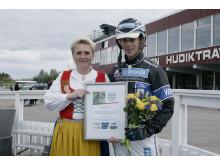 Bente Sandström och Wiktor Kylin-Blom
