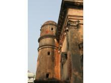 Sankt Olav Kirke i Serampore før restaurering