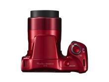 Canon PowerShot SX420 IS röd ovanifrån