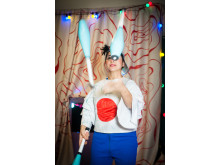 Från föreställning med Clowner utan GränserE