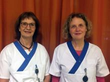 Anette Ståhlberg och Annika Åkvist, skötare respektive kurator inom psykosvården, Akademiska sjukhuset
