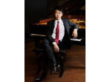 David Huang, pianist, masterstudent vid Kungl. Musikhögskolan (KMH) och medverkande i festivalen Kom&Hör 8-11 maj 2014.