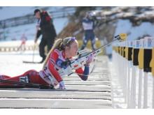 Emilie Kalkenberg, skytebane, sprint ungdom kvinner, junior-VM 2016