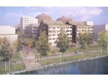 Vy från Husarviken