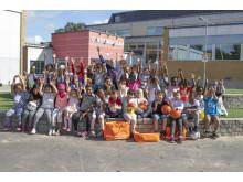 Stadiums aktivitetsväska delas ut till skolor med minst en förstaklass