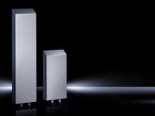 De nye luft/vandvarmevekslere i Hygienic Design fra Rittal er ideelle til levnedsmiddelindustrien.