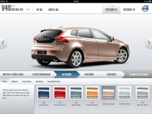 Bygg Din Volvo nu som iPad App