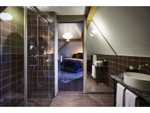 Bathroom at Spedition Hotel, Thun, Switzerland - hotel design by Stylt
