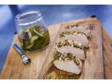 Indrefilet av svin med grillede grønnsaker