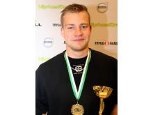 Vinnare Oskar Ågren från Höör