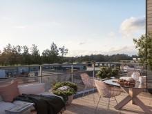 Säljstart för 32 nya lägenheter i Hills Villastad