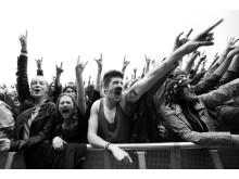 Publikum på NorthSide Festival 2012