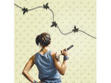 Gilla sladdar väggfäste för kablar