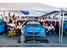 Thed Björk och Volvo Polestar Racing STCC-mästare 2014