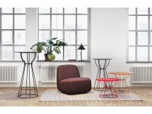 Deco table and Aperi easy chair