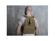 Battle Vest grün Model back 10031688