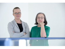 Linda Wårell och Kristina Ek