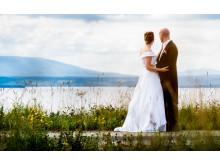 Bröllop på Frösön, Östersund, Jämtland