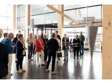 Finnvedsbostäder 70 år-rundvandring Gummifabriken - foto John Nelander