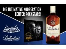The BossHoss und Ballantine's gehen Markenpartnerschaft ein