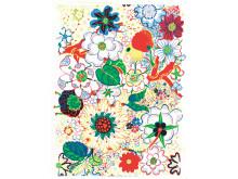 Textile print Nippon by Josef Frank