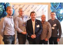 Vännäs finalister i Kranvattentävlingen 2015