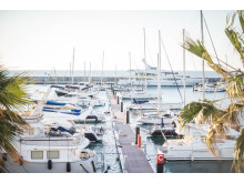 Hi-res image - Karpaz Gate Marina - Boats in Karpaz Gate Marina