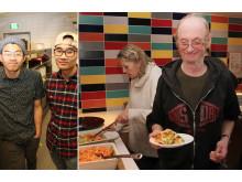 Kichin kokker fra NY og brukere fra Kirkens Bymisjon