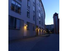 Bild 1. Fox Design levererat belysning till Kv. Barnängen i norra Hammarbyhamnen.