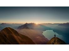 Sonnenaufgang am Großen Mythen