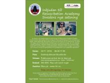 Resuscitation academy 22 November 2016