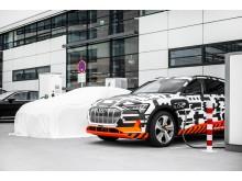 Audi e-tron Charging Service fuldender udbuddet af opladningsmuligheder