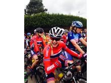 Miriam Bjørnsrud på sykkellandslaget 2016