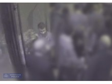 CCTV still of Martine and Abdulhak in the Maddox club