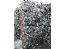 Kildesortert plast får nytt liv