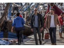 Mark Strong o Fares Fares i Deep State, premiär på FOX den 23/4 kl 21.55.
