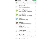 Unified Remote till iOS - Fjärrkontroller