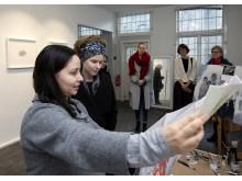 Amanda Lind besöker konstepidemin 22.02.19 13