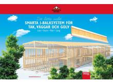 Masonite Beams smarta I-balksystem för tak, väggar och golv