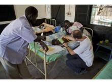 Läkare Utan Gränser behandlade många patienter på Teaching Hospital i Malakal, Sydsudan, innan anläggningen plundrades och förstördes. Bild: Läkare Utan Gränser.
