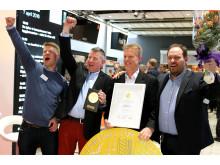 Vinnarna av Nordbyggs materialmedalj 2016 – Klimatfabriken