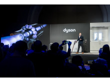 Jake Dyson, Chief Engineer, at Dyson launch event in Paris, 6 March 2018 - 2