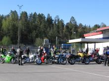 Öppet hus för motorcyklar i Stockholm-Rissne