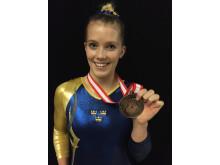 VM-brons Lina Sjöberg
