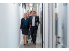 Sweden's Finance Minister visits Hydro66