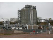 LNG-terminalen på Preemraff Lysekil